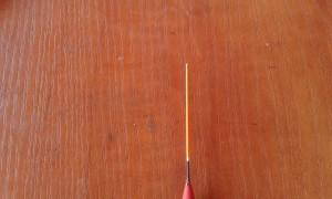 spławik - antenka węglowa